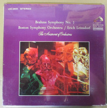 BOSTON SYMPHONY - Brahms Symphony No. 2