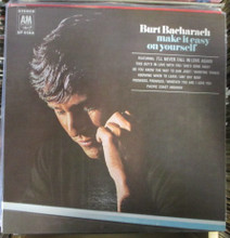 BACHARACH, BURT - Make It Easy On Yourself LP