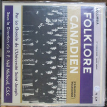 FOLKLORER CANADIEN - Saint Joseph's University Choir