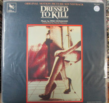 DRESSED TO KILL - Soundtrack - Pino Donaggio