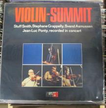 VIOLIN-SUMMIT - Stuff Smith, Stephane Grappelly, Svend Asmussen, Jean-Luc Ponty