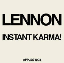 """LENNON, JOHN - Instant Karma  Remix 7"""""""