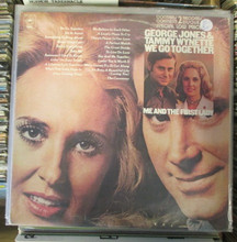 JONES, GEORGE & TAMMY WYNETTE - We Go Together / Me And The First Lady