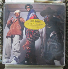 """RUN-D.M.C. - What It's All About / The Ave  12"""""""