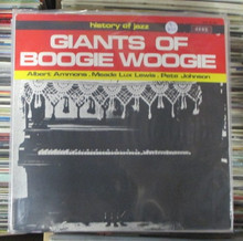 GIANTS OF BOOGIE WOOGIE - History Of Jazz - V.A.