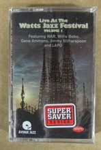 LIVE AT THE WATTS JAZZ FESTIVAL VOL. 1 - Various