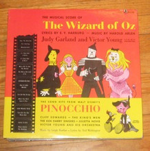 WIZARD OF OZ / PINOCCHIO - Musical Score Of