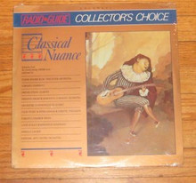CBC RADIO GUIDE - COLLECTOR'S CHOICE VOL. 1 - Classical Nuance V.A
