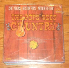 ATKINS, CHET & BOSTON POPS - Pops Goes Country