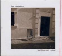 HERSKOWITZ, MATT - Last Impressions