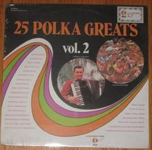 25 POLKA GREATS VOL. 2 - V.A.