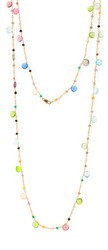 Gorgeous Multi Gemstone Briolette Rosary Chain