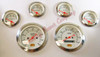 6 PC GAUGE KIT w/MECHANICAL SPEDOMETER