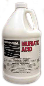 Muriatic Acid, Gallon, 4x1 Gal., Case