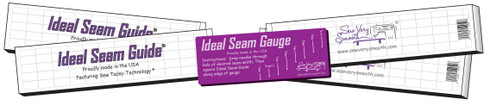 "2 each 15"" Ideal Seam Guides plus the Mini Ideal Seam Gauge team up to  provide the Ideal Half Square Triangle Set!"