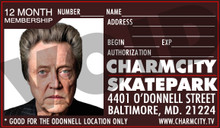 This is a money saving 12 Month Pass to the Charmcity Skatepark in Baltimore, Maryland.