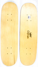 """This is a 70's era replica skateboard cruiser, """"TwinTail"""" model deck. This deck is made of 7PLYS of hard rock maple. It is 7.25"""" wide and 27.25"""" long. It has a fun clean shape that has two tight clean tails to make the cruise as fun and ambidextrous  as possible!"""