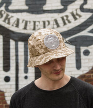 "This is an Official Charmcity ""Digital Camo - Sand Colorway"" Bucket Cap size L/XL. Keeps the rain or sun out and keeps you sporty and FRESH!"
