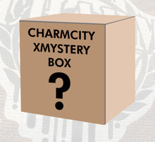 This is the Charmcity XMystery Box. A special Christmas Edition of our staple $50 Mystery Box loaded with various skate goods from a wide variety of top brands. The XMystery box is guaranteed to have at least $125 (or more) worth of goodies inside. Try one and see what you get!