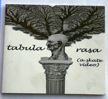 tabula rasa (a skate video) set in Baltimore featuring impressive east coast skateboarding made by Garrett Lopez. Featuring Chris Arias, Teryn Dickson, Gabriel Ritter and many other east coast and Baltimore skateboarders. DVD is a limited copy of only 100. DVD is in a CD sized case.