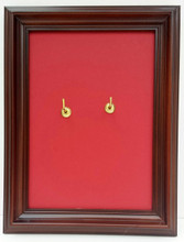 """5"""" x 7"""" frame is custom adapted to beautifully display your PalmCross."""