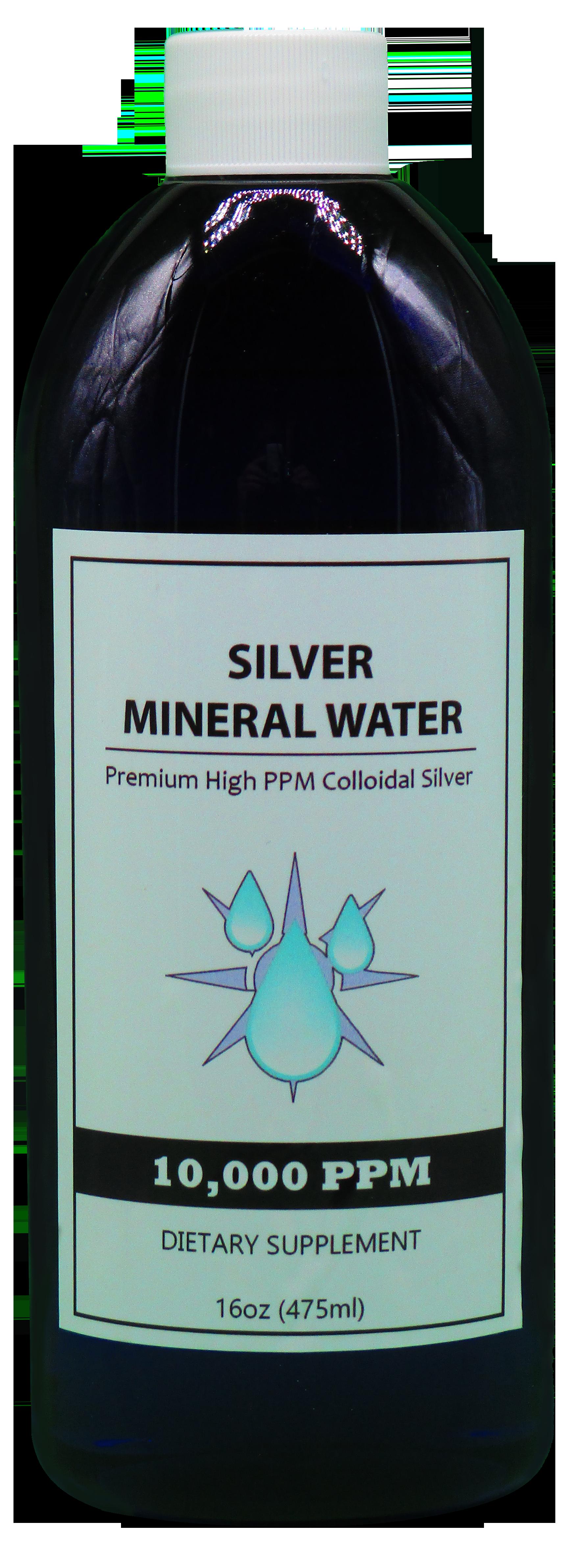 10000 PPM Colloidal Silver in a 16 oz Bottle