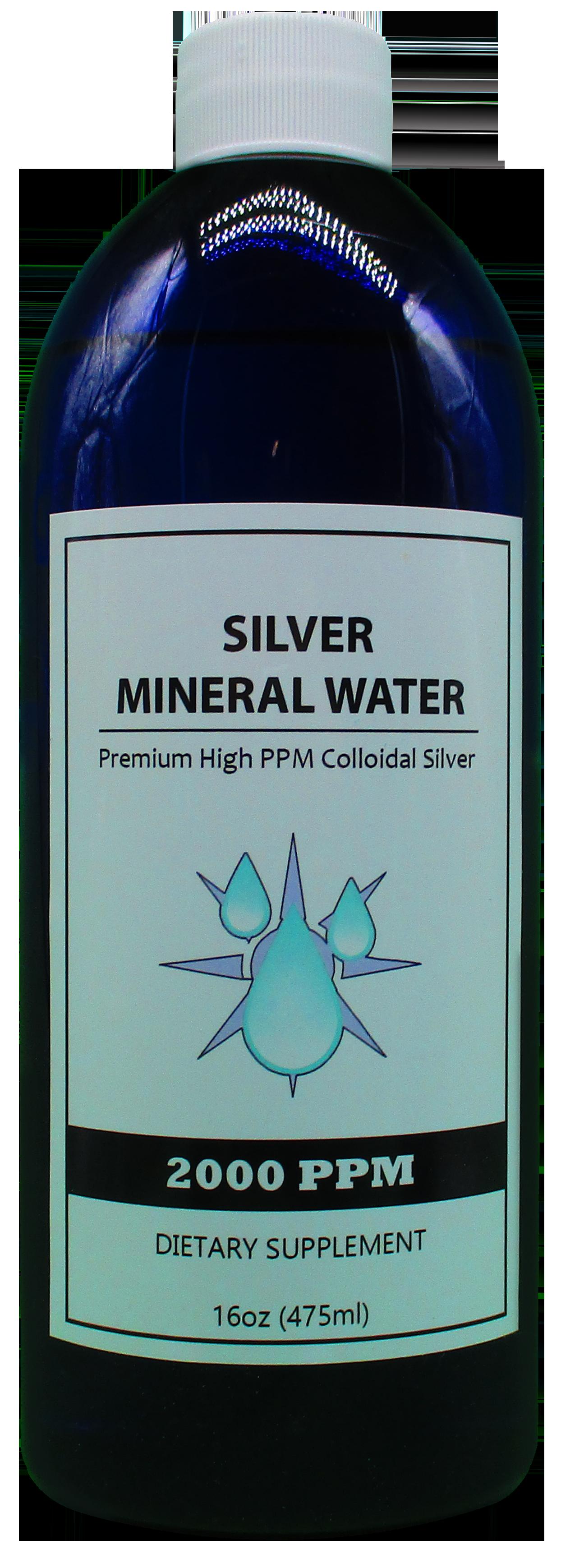 2000-colloidal silver 16 oz bottle