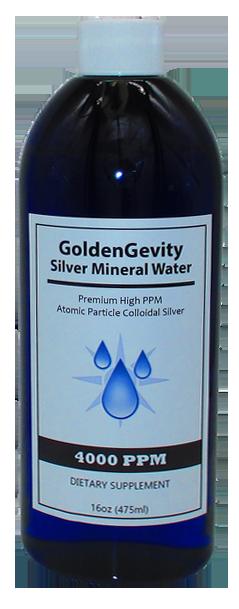 4000 PPM Colloidal Silver 16 Ounce Bottle