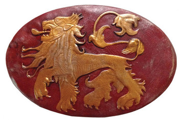 Lannister Shield Pin