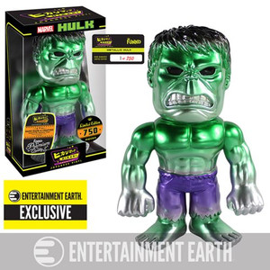 LIMITED EDITION: Metallic Hulk Hikari Vinyl Figue