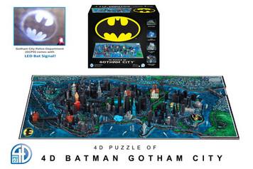 Gotham City 4D Map Puzzle