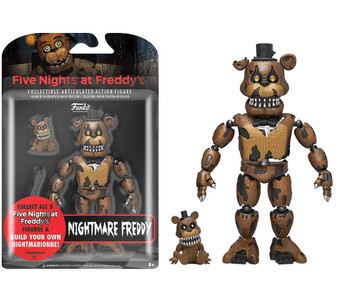 Five Nights At Freddy's - Nightmare Freddy Action Figure