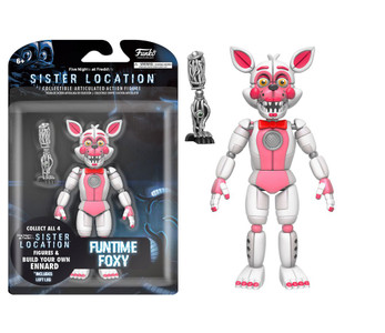 "5"" Articulated Action Figure: Five Nights at Freddy's - Funtime Foxy"