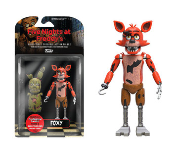 "5"" Articulated Action Figure: Five Night's at Freddy's - Foxy"