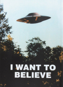 I Want To Believe X-Files Journal