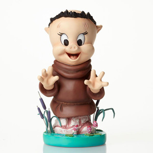 Porky Pig as Friar Tuck Bust