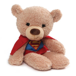 Fuzzy Supergirl Bear