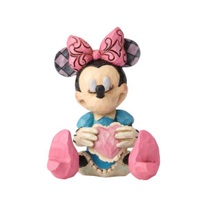 Mini Minnie Mouse w/ Heart Figure