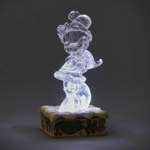 Ice Bright Illuminated Minnie Mouse Figure