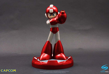 Mega Man Figure - 25th Anniversary Red (SDCC 2016)