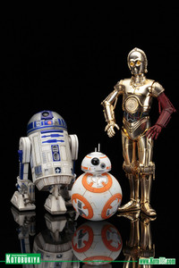 R2-D2 & C-3PO with BB-8 3Pack Figure Set