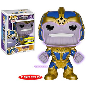 EXCLUSIVE: POP! Marvel: Guardians of the Galaxy - Thanos (GITD)