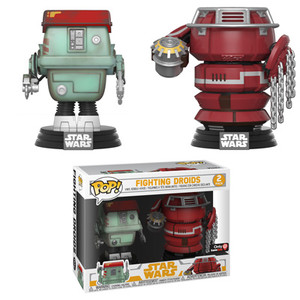 EXCLUSIVE: POP! Star Wars: Solo - Fighting Droids 2PK
