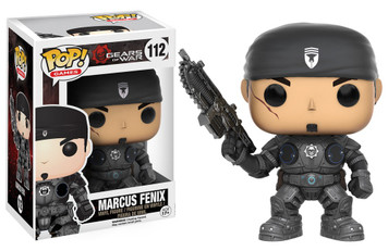 POP! Games: Gears of War - Marcus Fenix