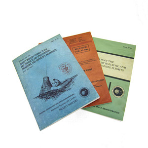 NASA Vintage Documents Soft Journal - 3 Pack