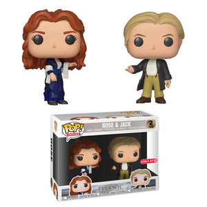 EXCLUSIVE: POP! Movies: Titanic - Rose & Jack (2-Pack)