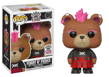 EXCLUSIVE: POP! Build-A-Bear - Furry N' Fierce
