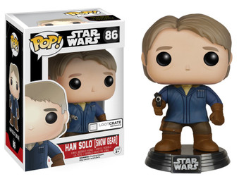 EXCLUSIVE: POP! Star Wars: Episode 7 - Han Solo (Snow Gear)