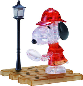 Detective Snoopy 3D Crystal Puzzle