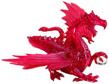 Red Dragon Deluxe 3D Crystal Puzzle
